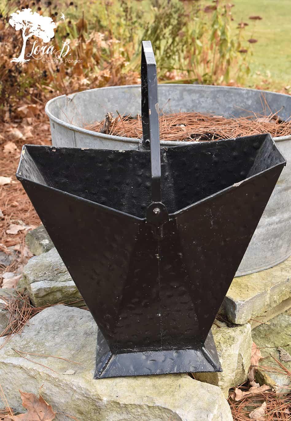 Vintage Coal Bucket