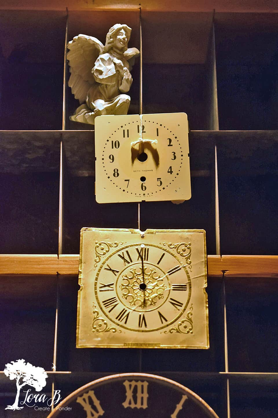 vintage clock faces