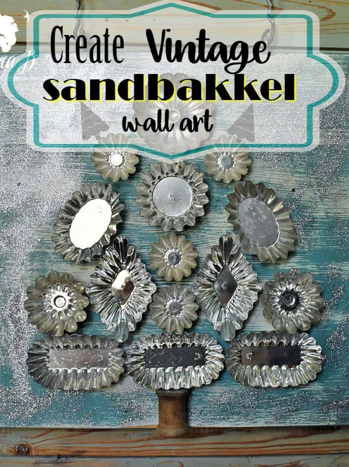 Sandbakkel wall art Pin