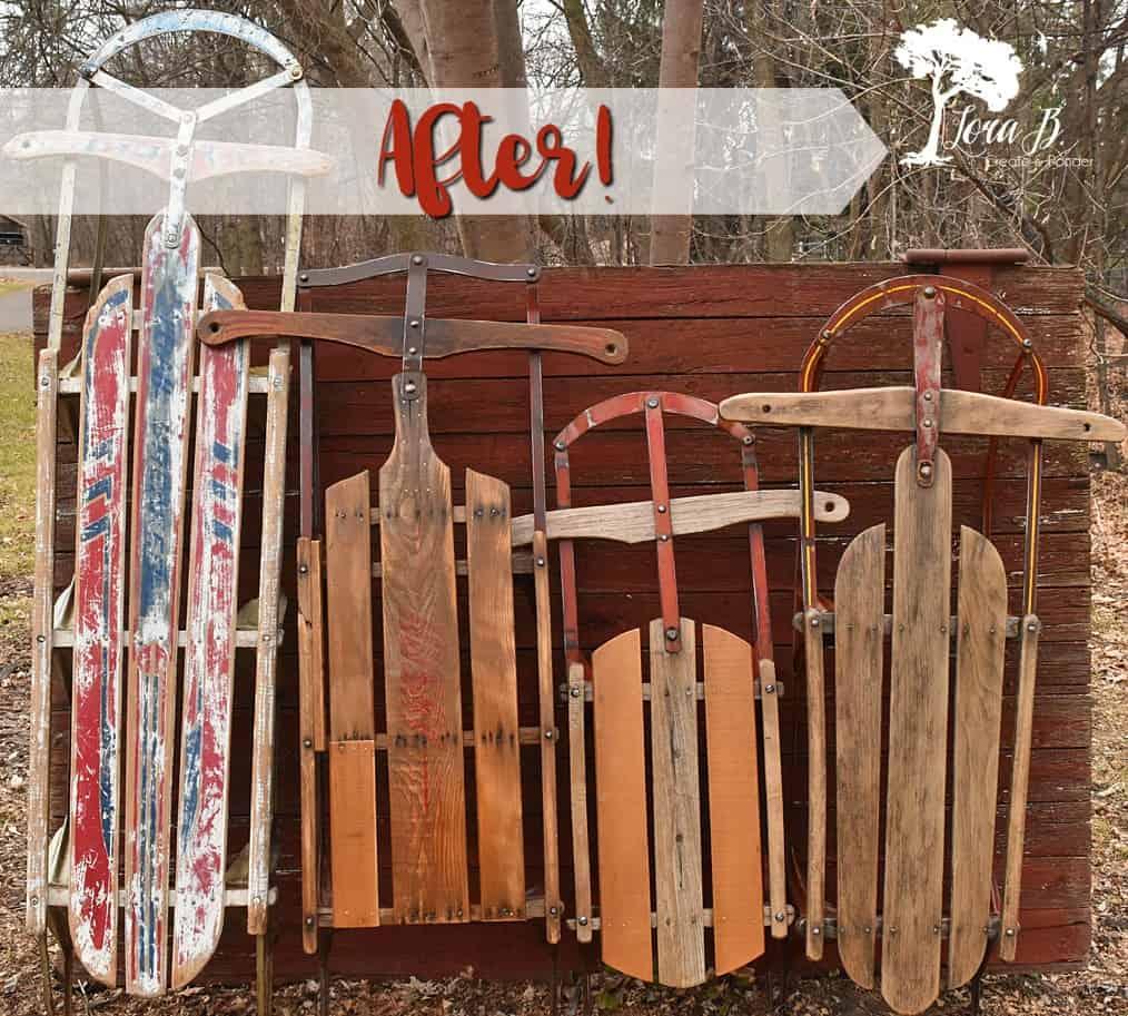 Vintage sleds, refreshed