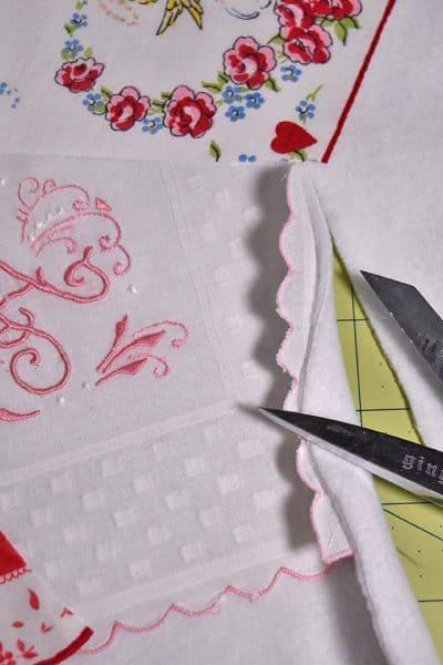 Vintage Handkerchief Project
