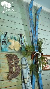 Wintertime back entry display