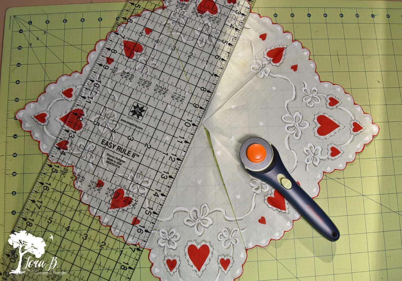 Valentine handkerchief