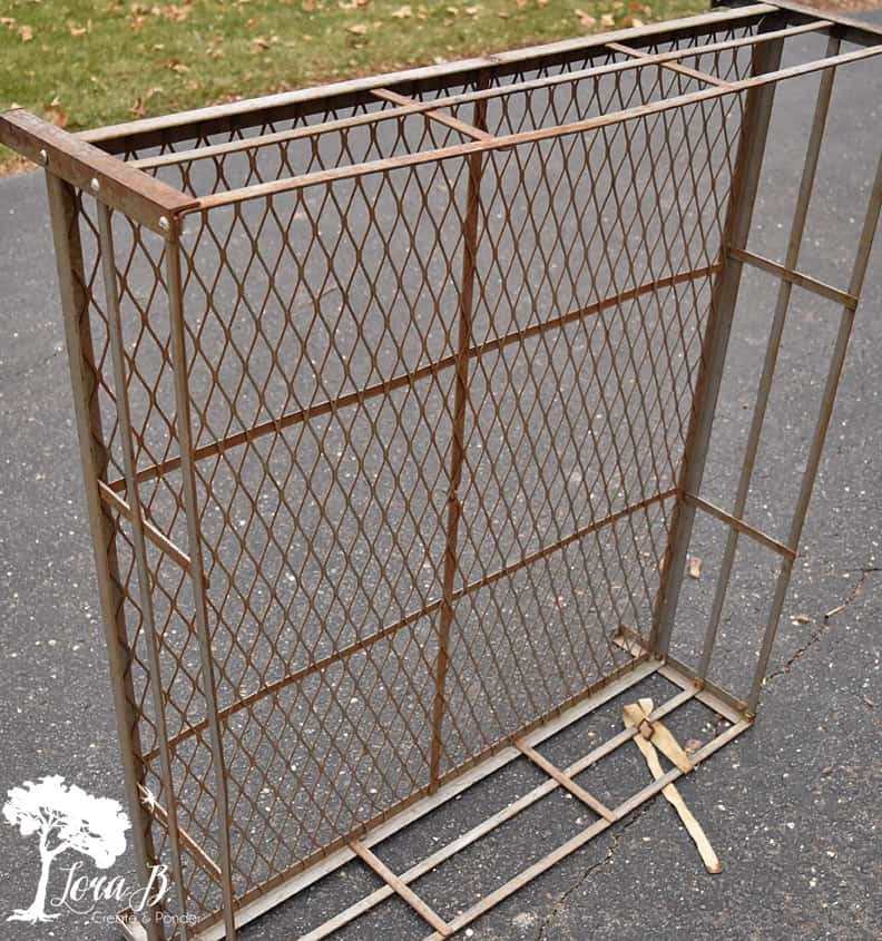 Vintage Metal Roof Rack