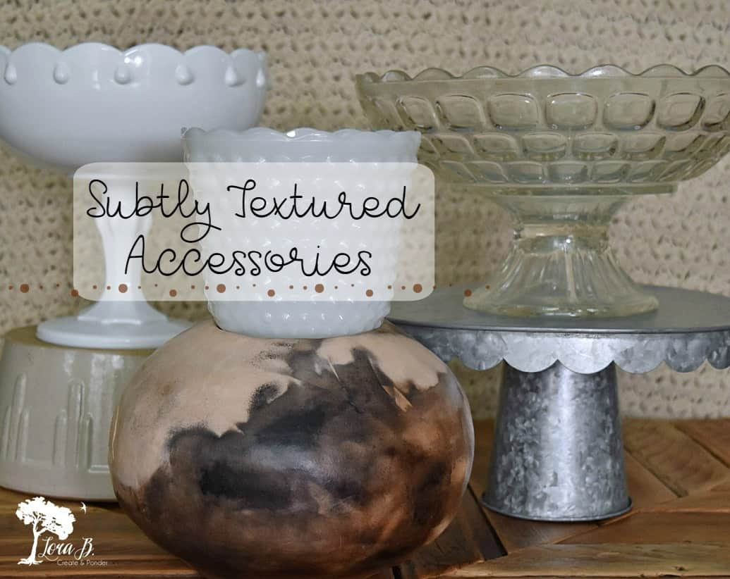 Vintage glassware, pottery, galvanized metal