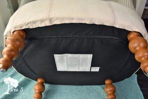 Feedsack Chair