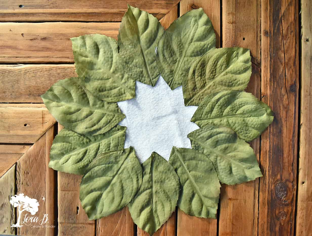 Leafy Placemat how to