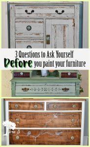 3 Questions to Ask Before you Paint
