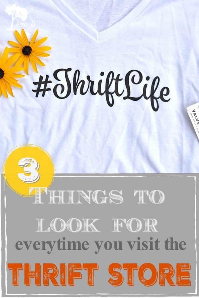 Thrift Life t shirt