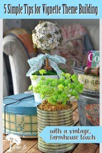 vintage decorating tips