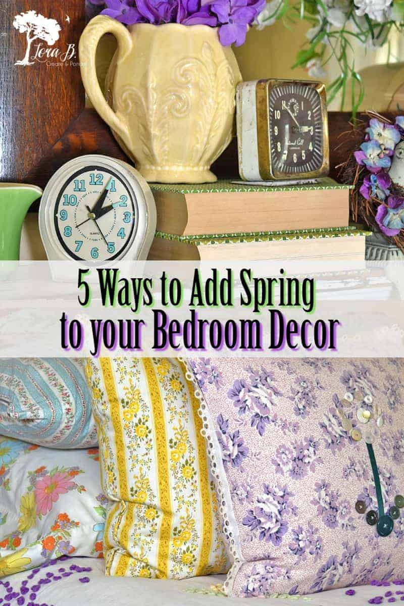 Spring bedroom decorating