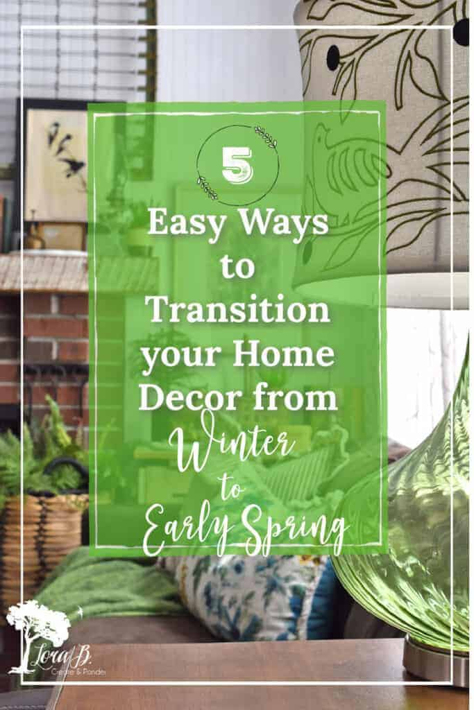 early spring decor tips