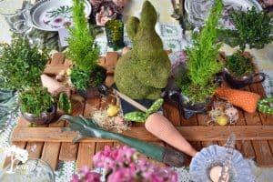 A Vintage, Botanical Easter