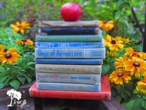 Decorating with Vintage Books