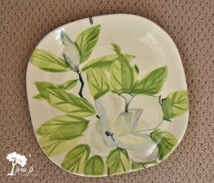 Red Wing Pottery plate