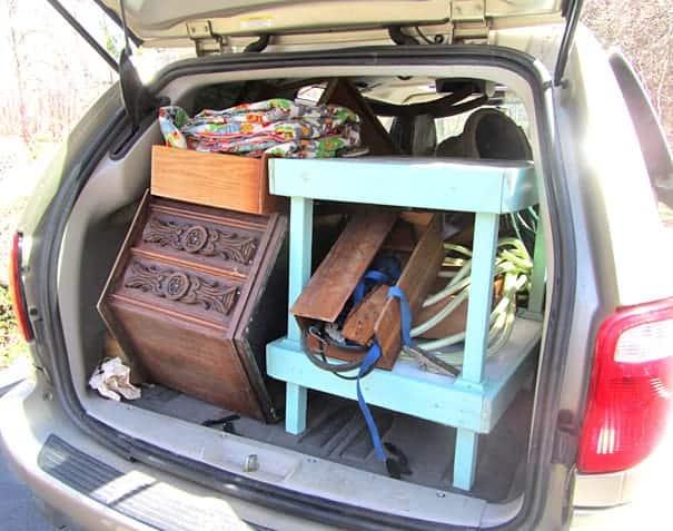 vintage junking load