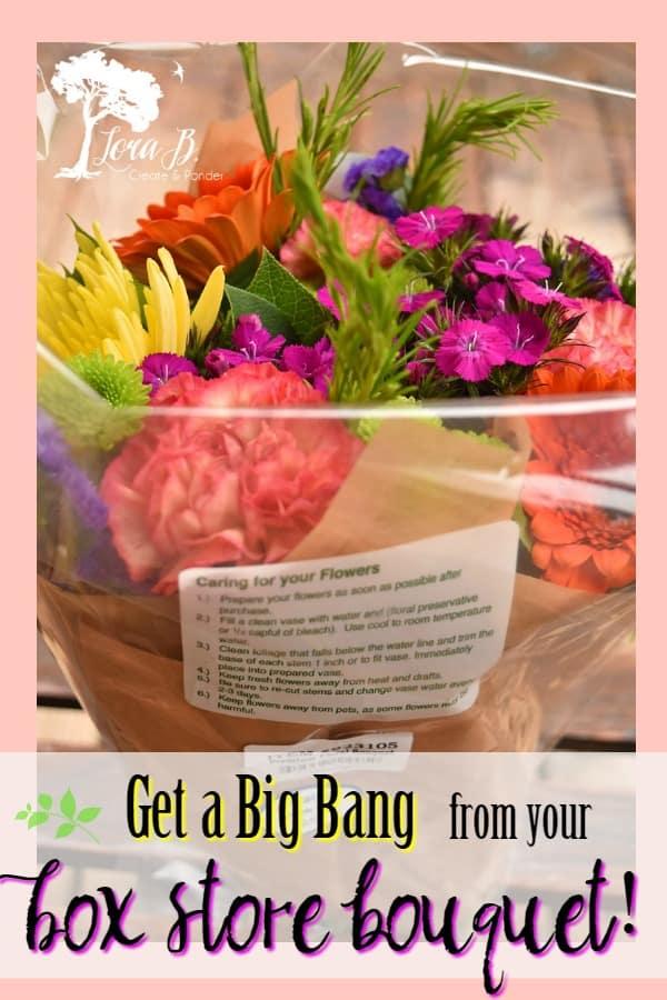 Box Store Bouquet