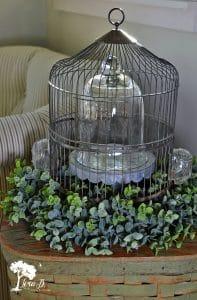 12 Ways to Decorate a Vintage Birdcage
