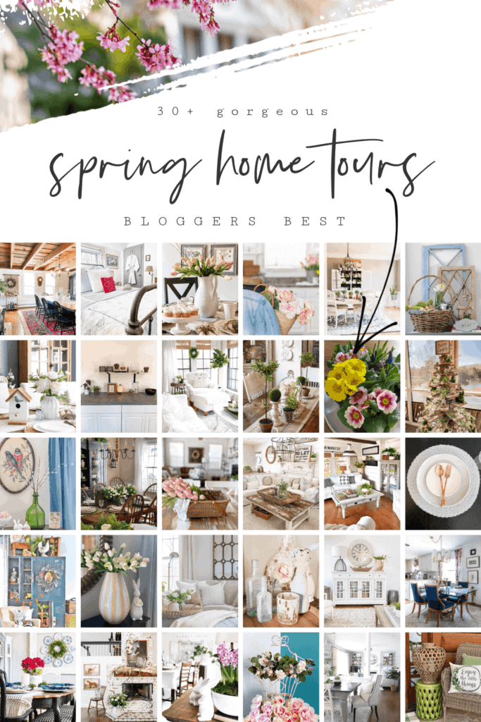 blogger's Spring home tour