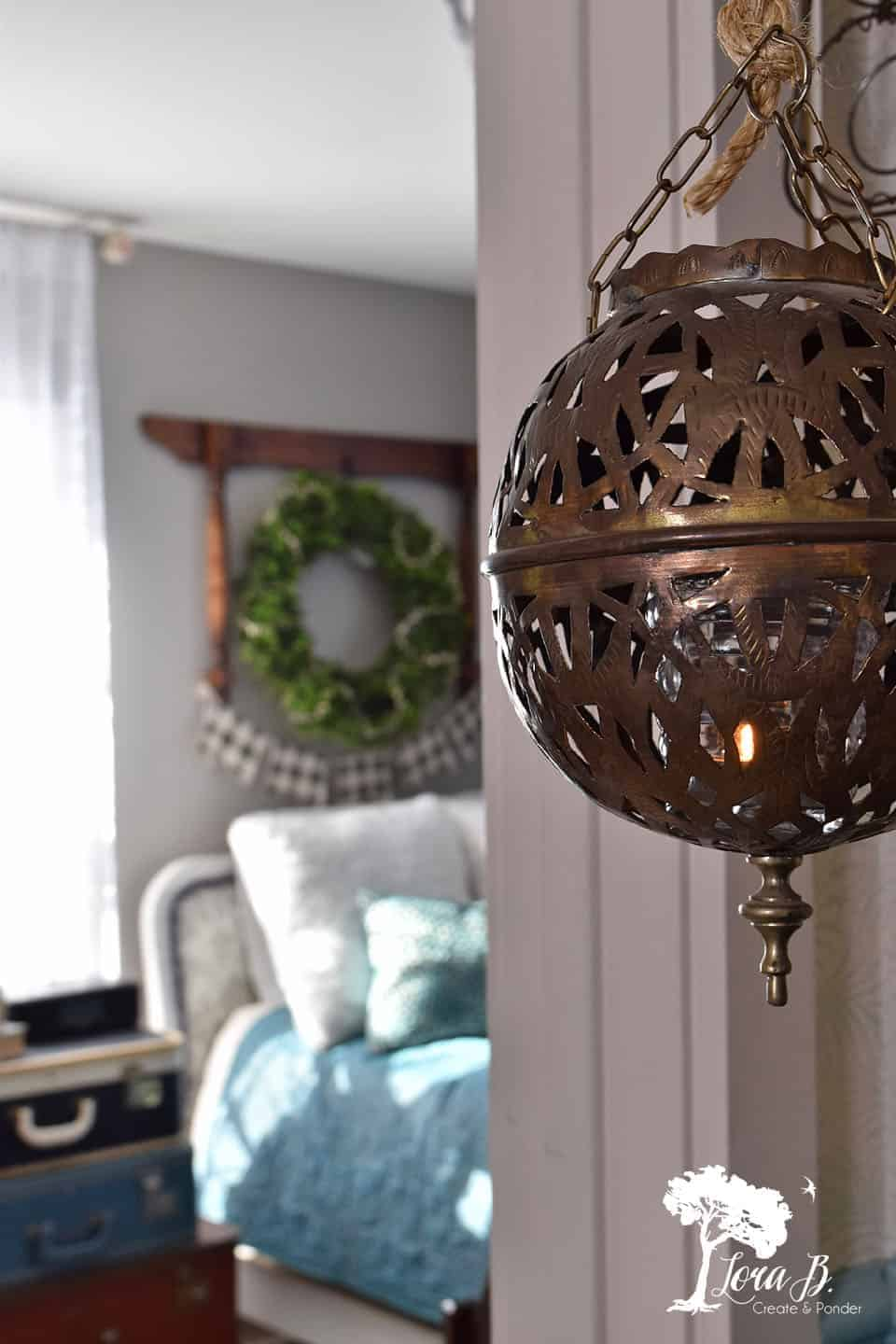 How to Decorate to Thrift the Look, Vintage Boho Style