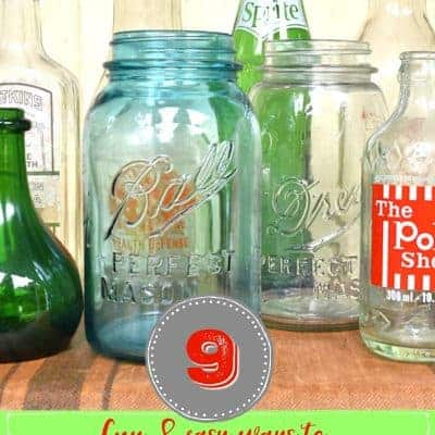 9 Easy Ways to Decorate with Bottles and Jars (for every season)