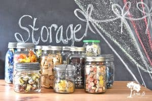 ball jar craft storage