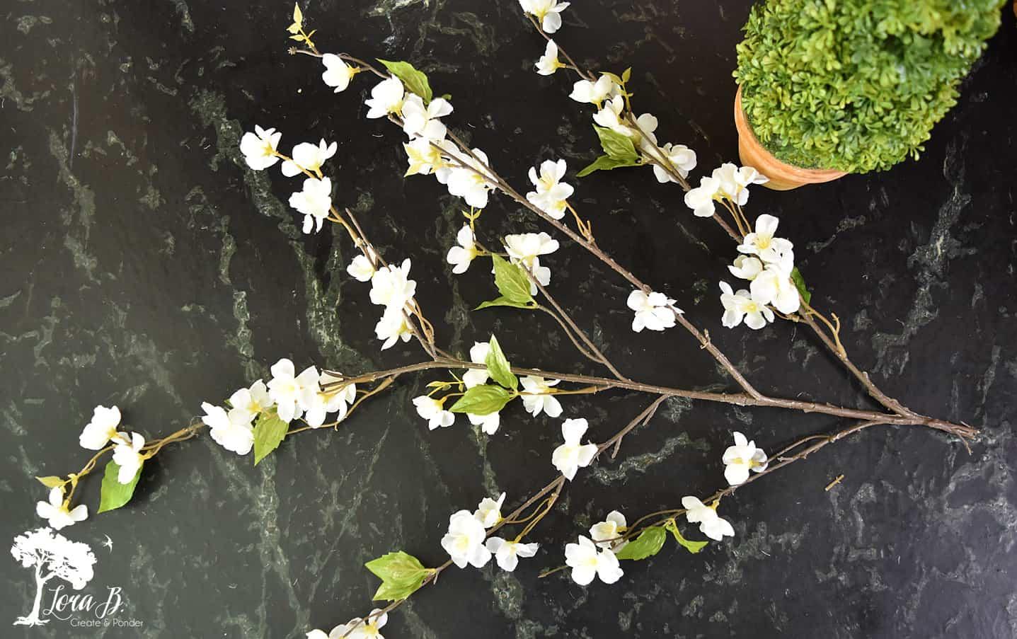 Fake floral tips