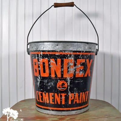 Re-purposing a Vintage Galvanized Bucket