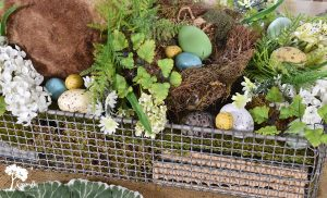 Easter Bunny Centerpiece How-To
