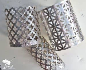 making sheet metal shades