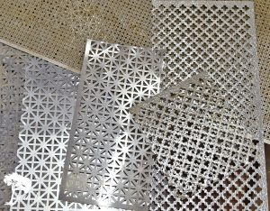 making sheet metal shades