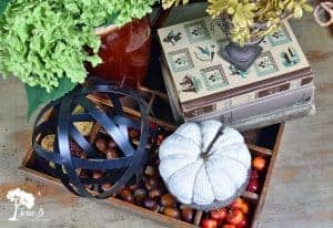 how to make an early fall centerpiece
