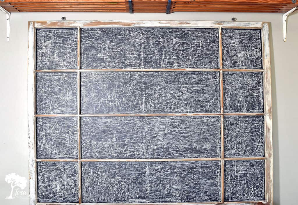 Make sure to season your chalkboard before you decorate with it.