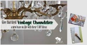 5 Ways to Update a Vintage Chandelier