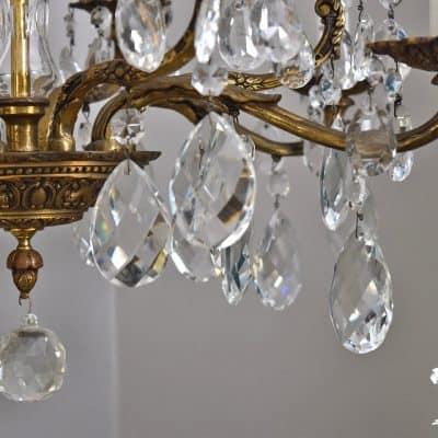5 Ways to Update a Vintage Chandelier (and keep it's classic appeal)