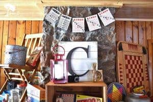 vintage cabin decor