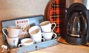 vintage coffee bar