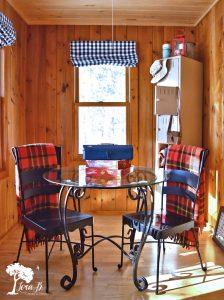 vintage cabin decor