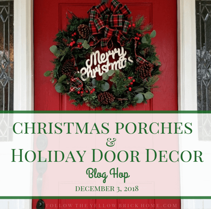 ... whole porch or my door decor, I'm going to give you ideas to decorate one of the favorite porch and entryway styling pieces: the classic vintage sled.