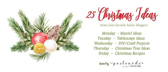 25 Christmas Ideas Blog Hop