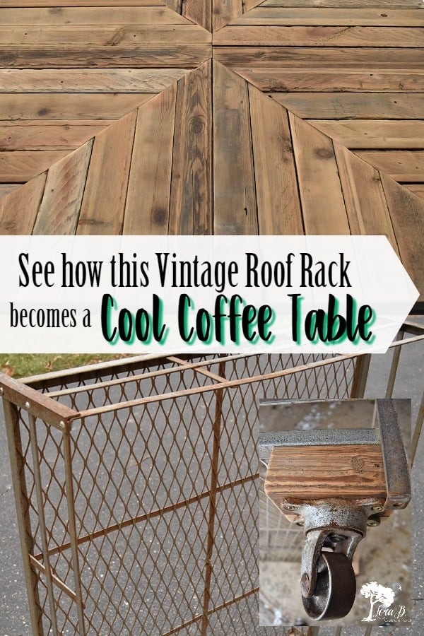 From Vintage Roof Rack to Cool Coffee Table