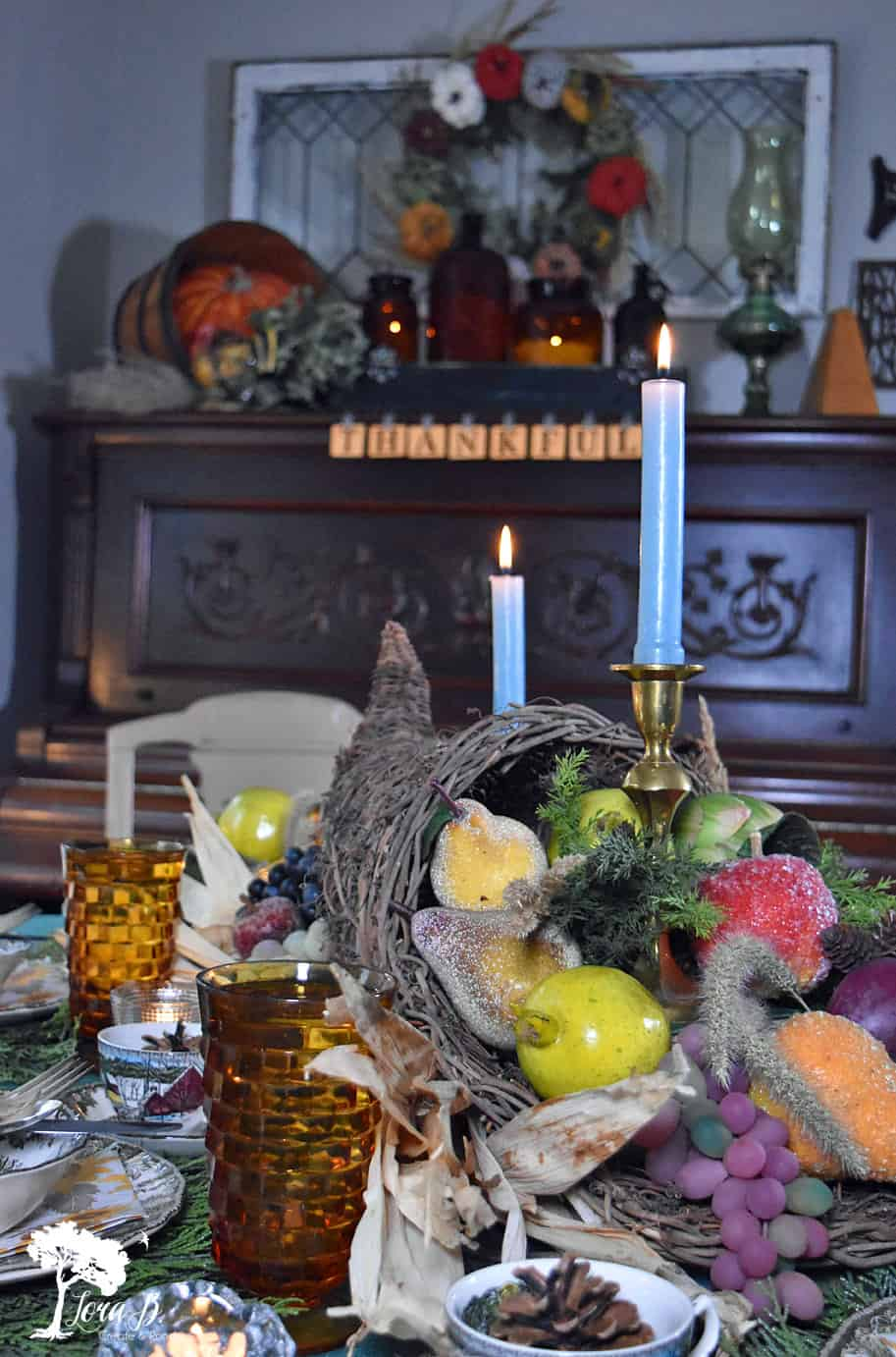 Cornucopia Collection Centerpiece