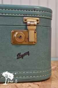 Vintage Cosmetic Case