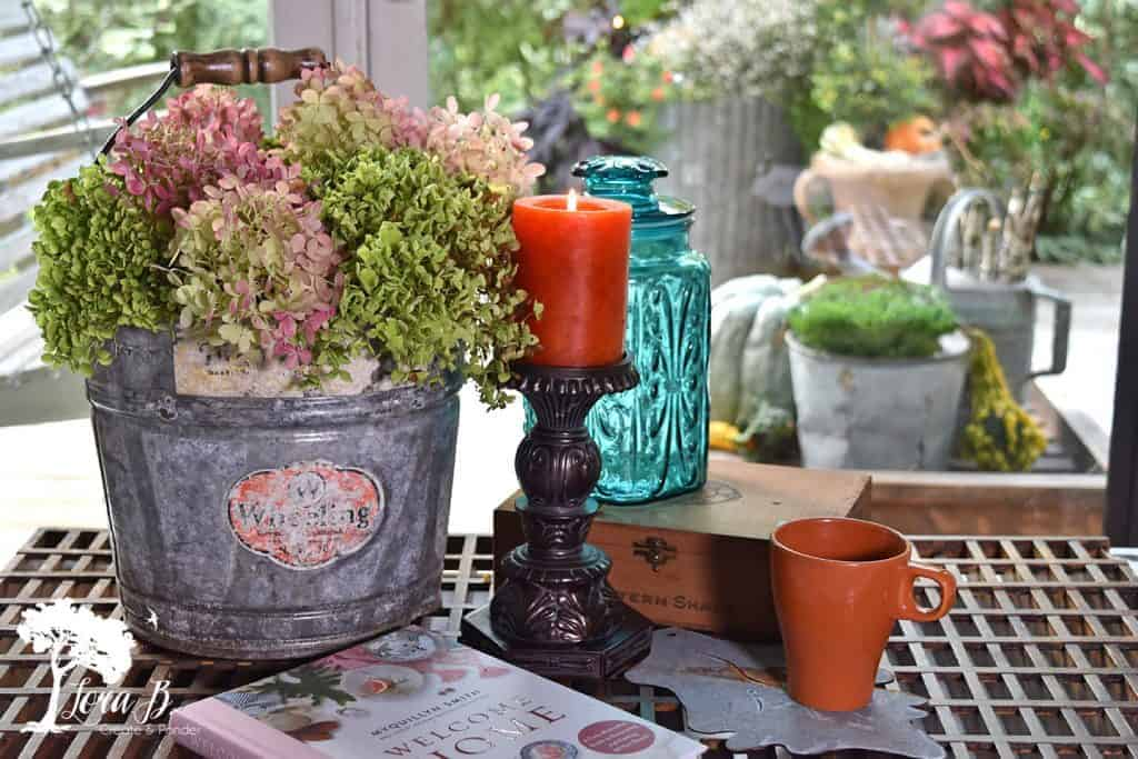early fall centerpiece
