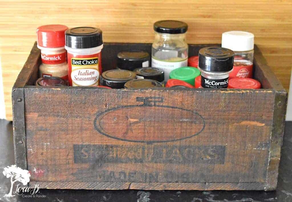 vintage tack box