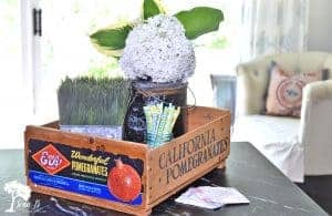 vintage fruit crate