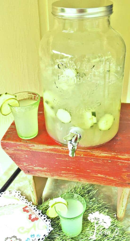 Cucumber Lime punch