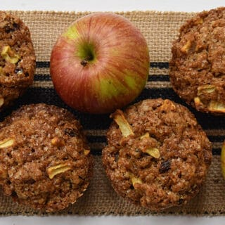 Apple Muffins are the perfect snack and treat.