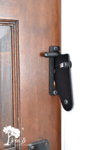 RLP slider door lock mechanism