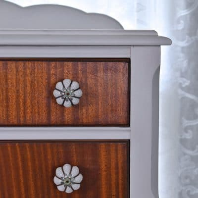Dresser Makeover with a Checklist Printable